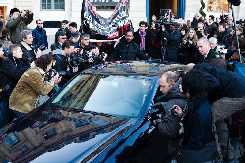 foto av Vivienne Westwood  - bil