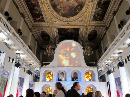 The venue, Banqueting House, London