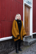 Woolen Coat Galore – Laugavegur, Reykjavik