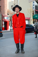 Red Suit – Seoul, Korea