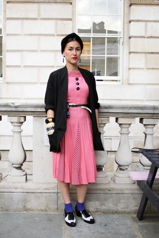 Mom 39 s dress london fashion week Theophilus london fashion style