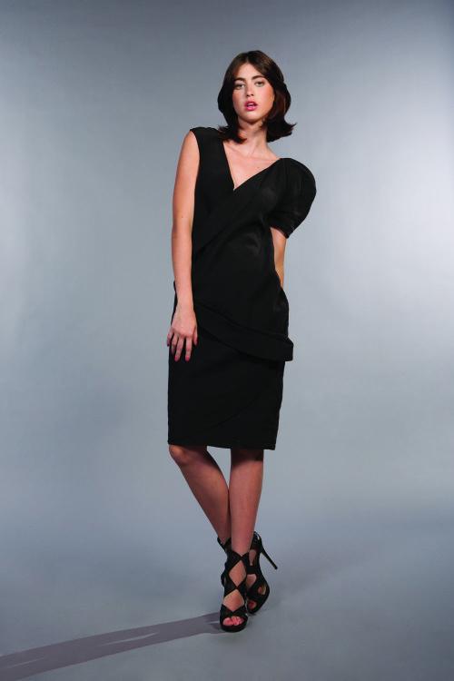 Onyx Isabelline dress
