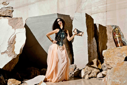 'Bastet' by Úna Burke Spring Summer 2012. Lookbook Styling: Adia Trischler and Lauren Cooke