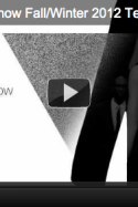 HUGO FASHION SHOW FW 2012 – LIVE STREAM from Berlin (sponsored post)