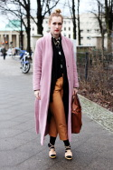 Pink Coat &#8211; Berlin, Brandenburger Tor