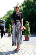 Stripy Skirt &#8211; Berlin FW