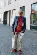 Tibor, Street Magazine Seller // Munich