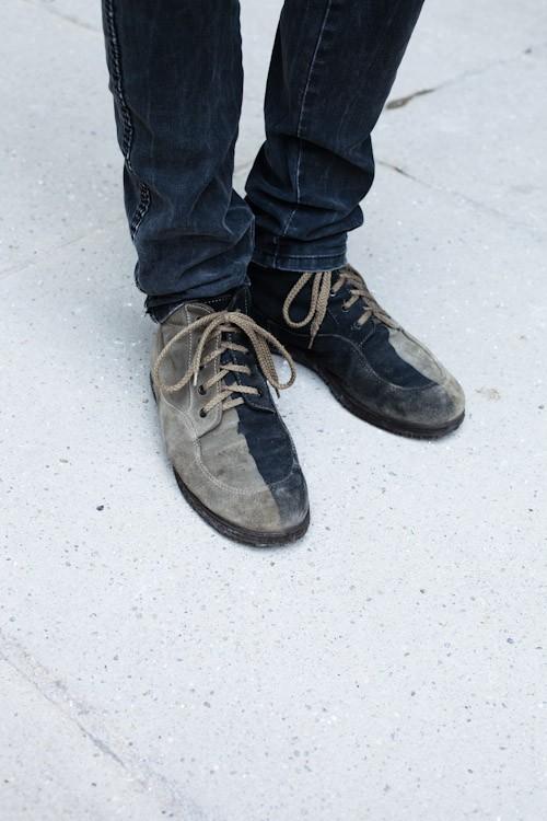 Two Color Shoe - Munich, Hofgraben