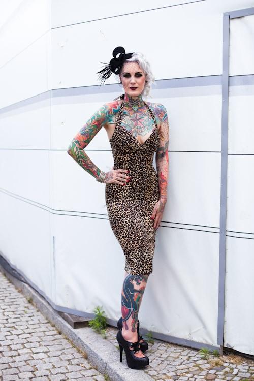 Colored Skin - Berlin Fashion Week, Bebelplatz