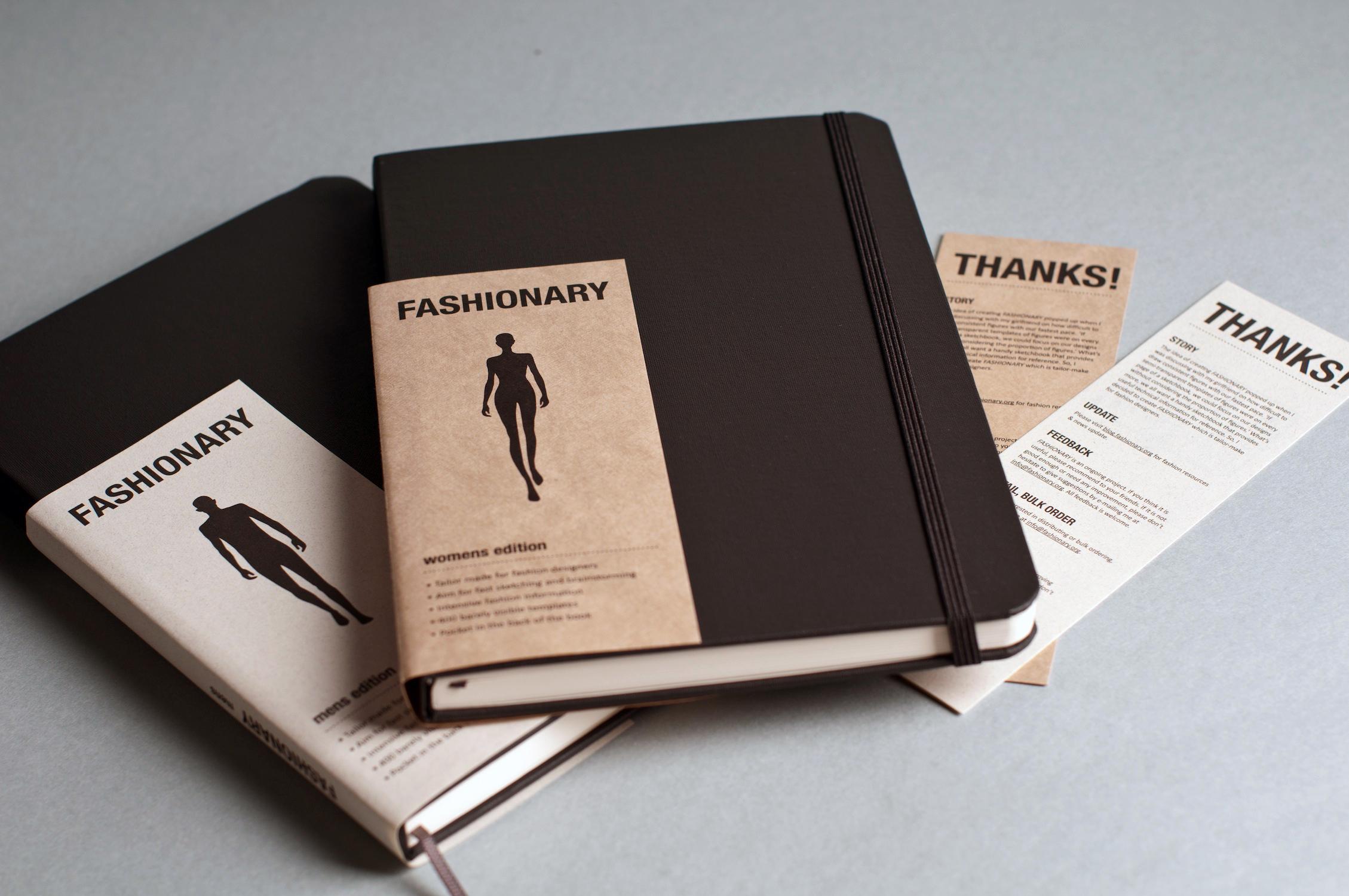 Fashion Dictionary Diary Fashionary