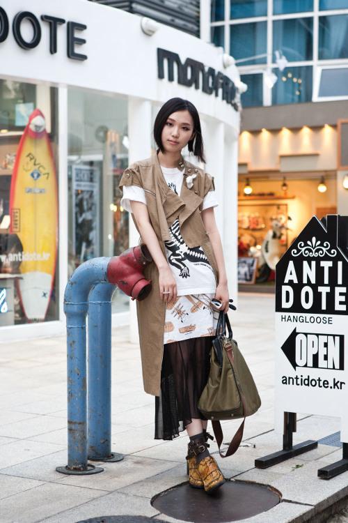 Layering Shorter Busan Korea