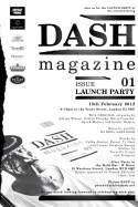 DASH Magazine Issue One Party – London